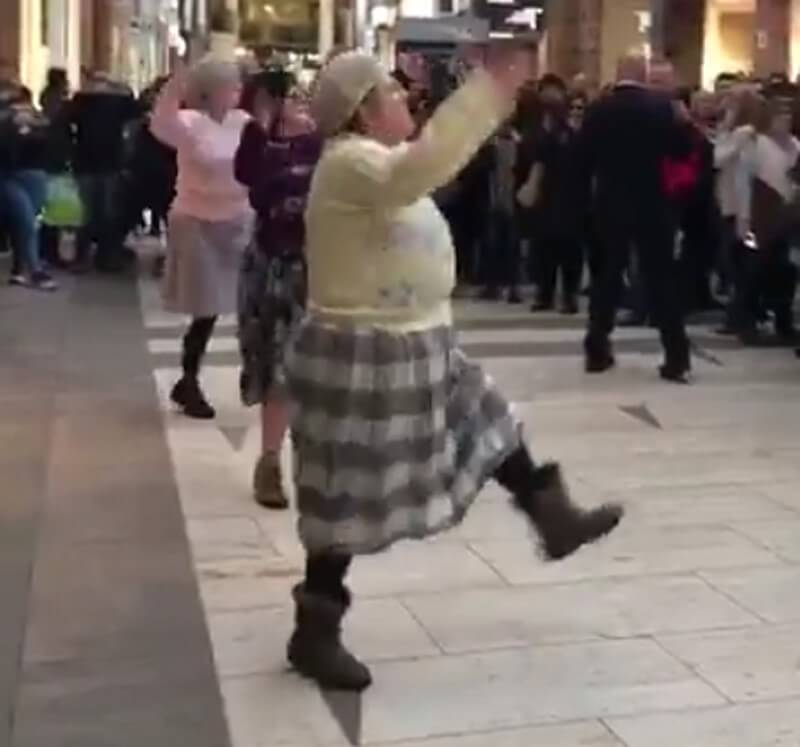 British Grannies Doing Bhangra On Diljit Dosanjh's Patiala Peg Is All You Need To See Today