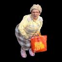 Dancing Granny Icon