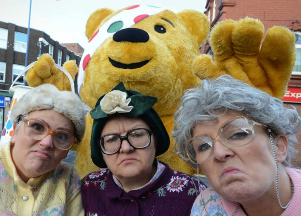 Dancing grannies step up for Children in Need