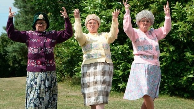 Dirty dancing Black Country grannies video reaches a million Facebook shares