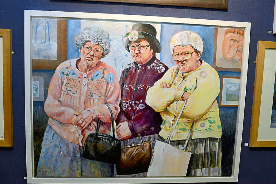 The Fizzogs immortalised in art at Dudley exhibition