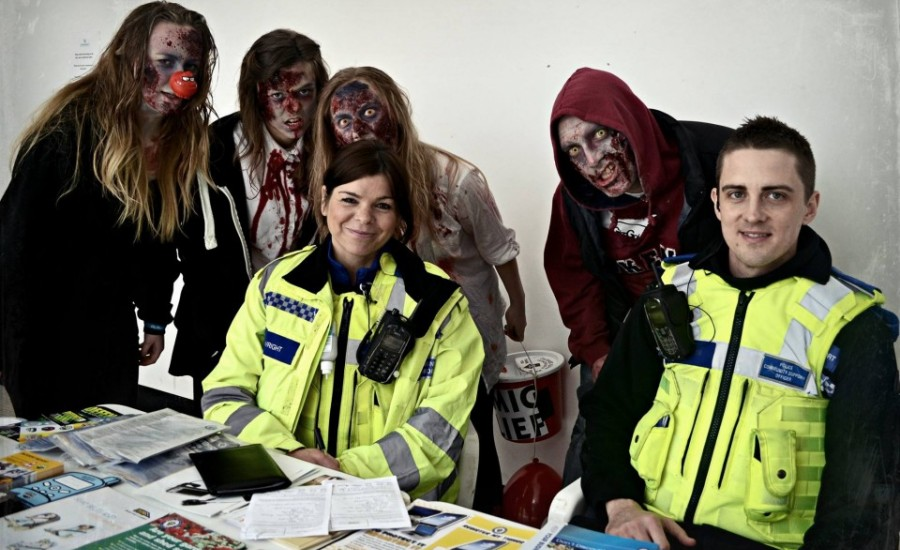 Zombie Walk for Comic Relief